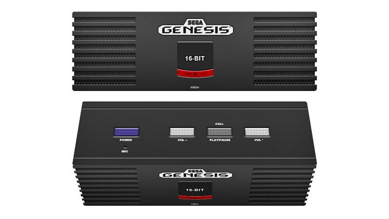 Illustration for article titled The Sega Genesis Lives Again (As a Bluetooth Speaker)