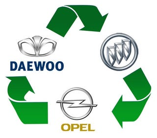 Illustration for article titled How A Daewoo Became A Buick Became An Opel Became A Buick Became A Daewoo