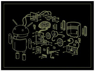 Illustration for article titled Exploded Android Reveals the Robotic Heart Behind Google