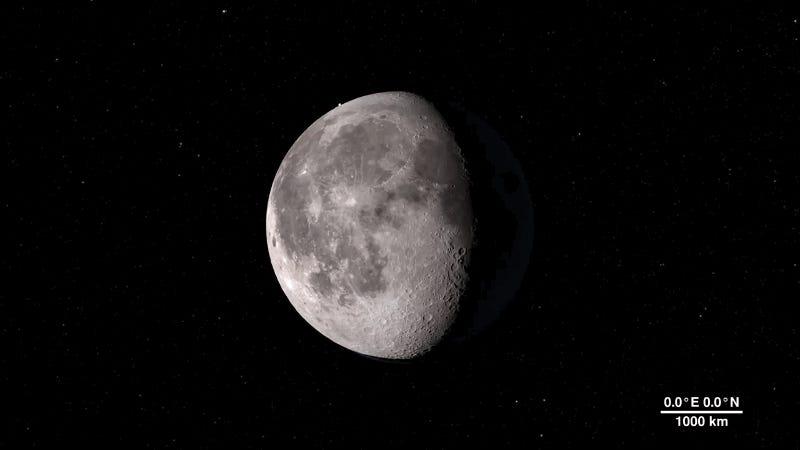 Este tour virtual de la NASA te enseñará la Luna como nunca antes la habías visto