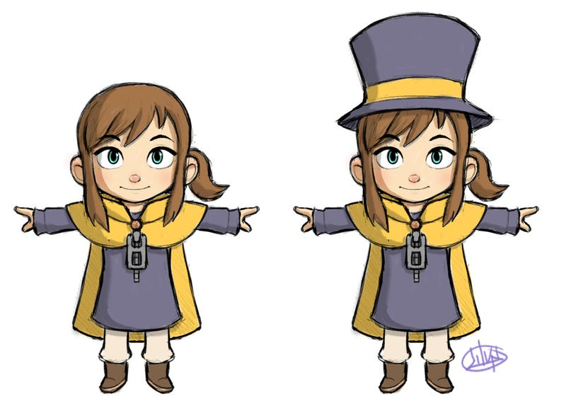 """Illustration for article titled """"A Hat in Time"""" Comes to Kickstarter *UPDATED*"""