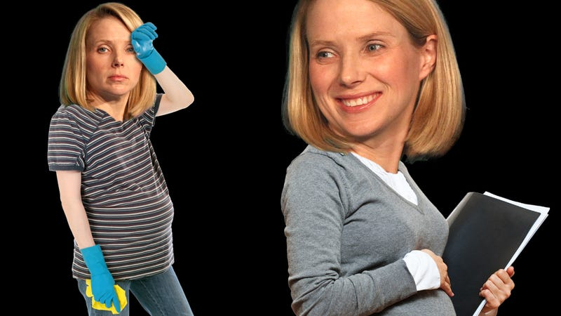 Illustration for article titled Who Has It Easier, a Pregnant CEO or a Pregnant Maid?