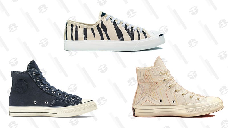 Select Sneakers   $30   Converse   Promo code FALL30