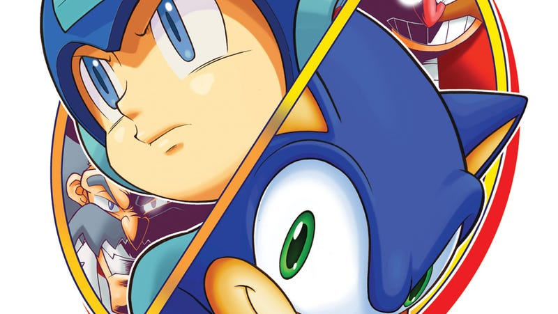 Illustration for article titled Sonic/Mega Man Crossover Won't Feature Any Human/Animal Romance