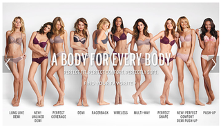 Illustration for article titled Victoria's Secret Acknowledges Outrage, Alters Its 'Perfect Body' Ad