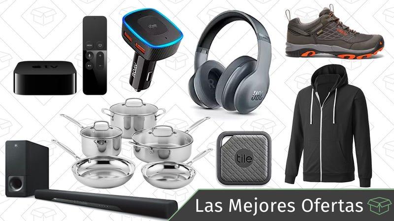 Illustration for article titled Las mejores ofertas de este martes: Auriculares JBL, set de cocina Cuisinart, Alexa para el coche y más