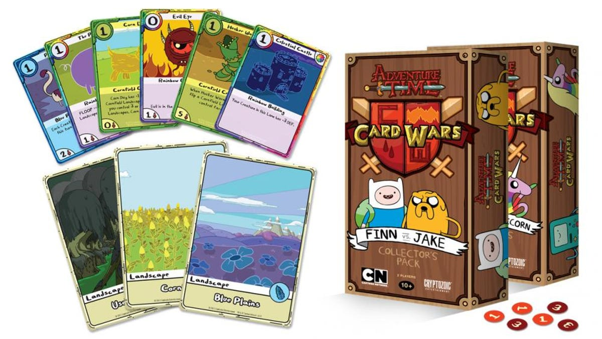A Real Adventure Time Card Game. And A Digital One. All The Card Games.