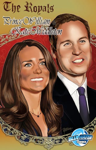 Illustration for article titled Kate & William Comic Book Needs More Radioactive Spiders