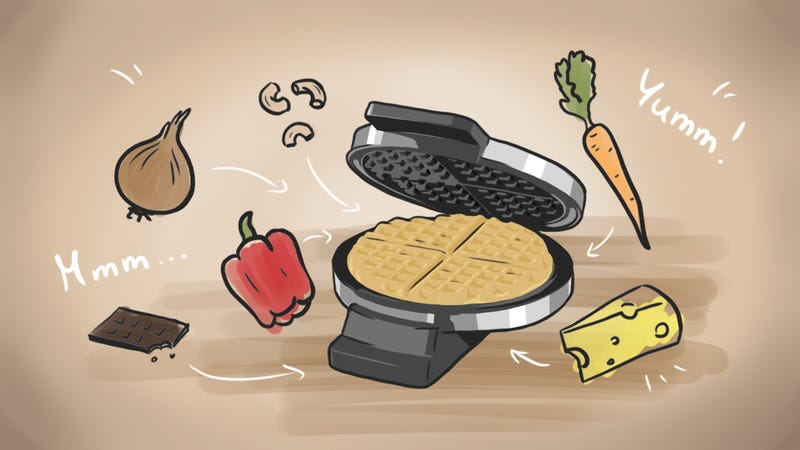 Illustration for article titled Top 10 Surprising Foods You Can Make in Your Waffle Iron