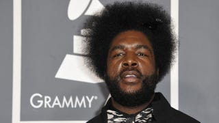 Questlove arrives at the Staples Center for the 54th Grammy Awards in Los Angeles.JOE KLAMAR/AFP/Getty Images