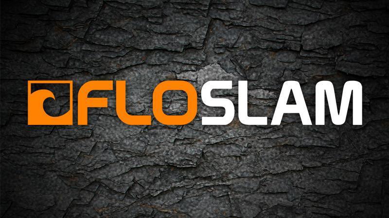 FloSports' FloSlam logo.