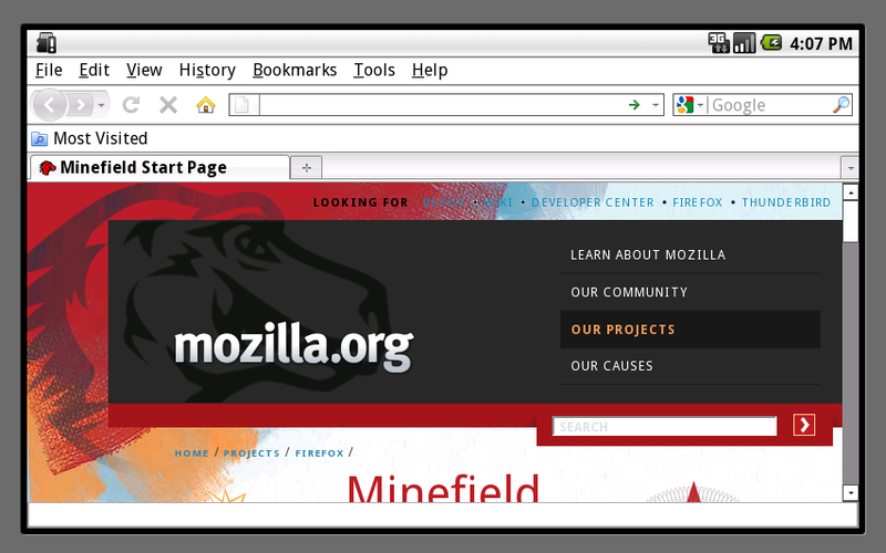 Illustration for article titled This Is What Firefox on Android Looks Like Right Now