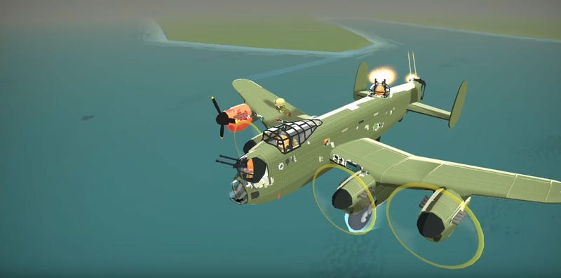 Illustration for article titled Bomber Crew Is A (Cute) WW2 Bomber Sim
