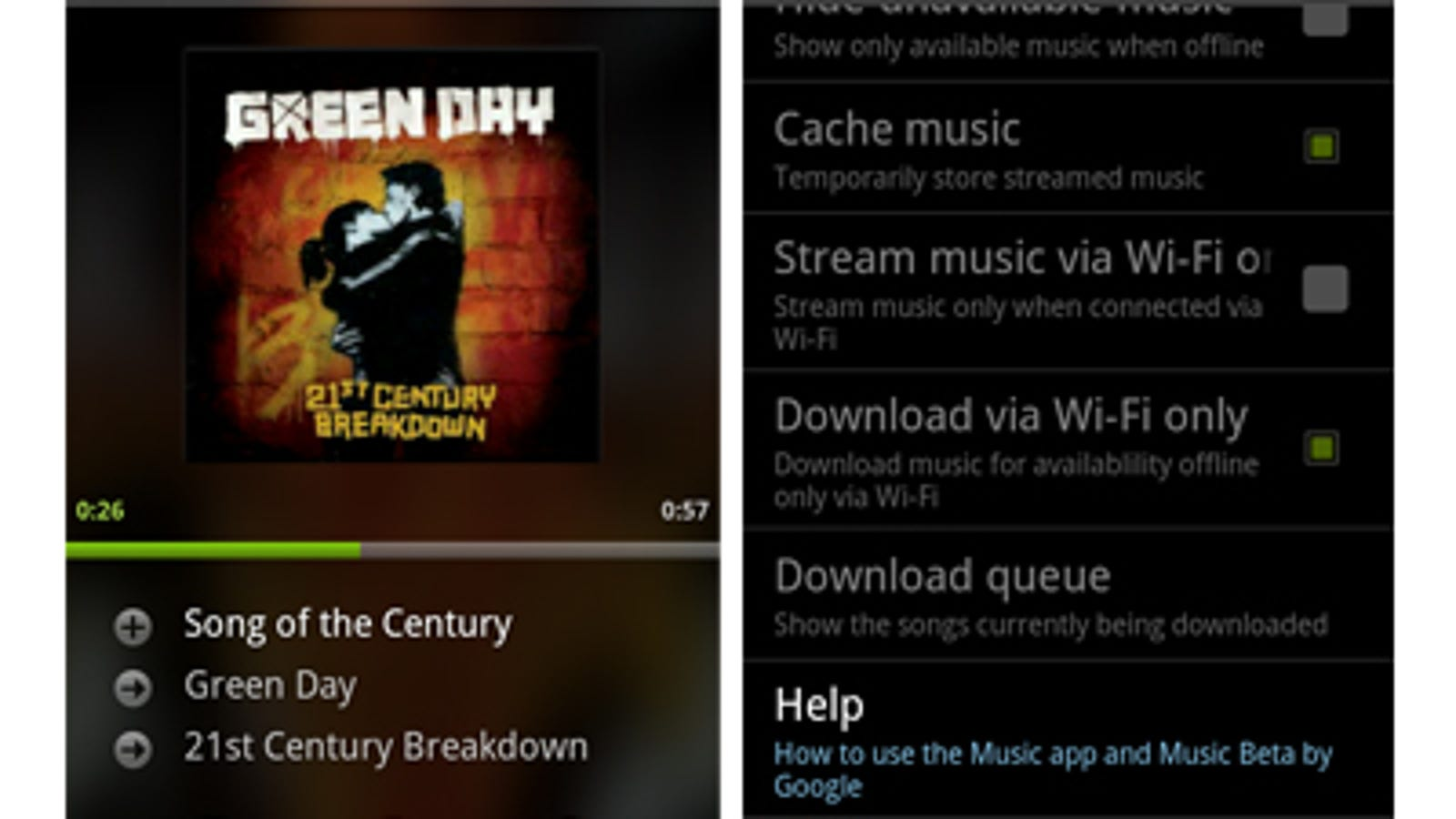 Android's Music Player App Update All But Reveals Google's