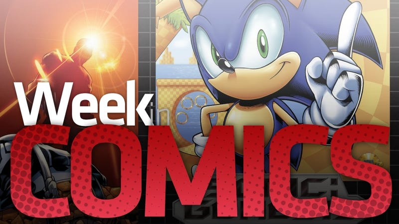 Illustration for article titled Sonic's New Genesis, Scalped at #50 and other New Comics Highlights