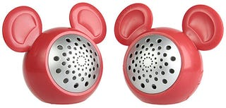 Illustration for article titled USB Mickey Mouse Speakers: Quartet of Extra Ears for the Tin-Eared