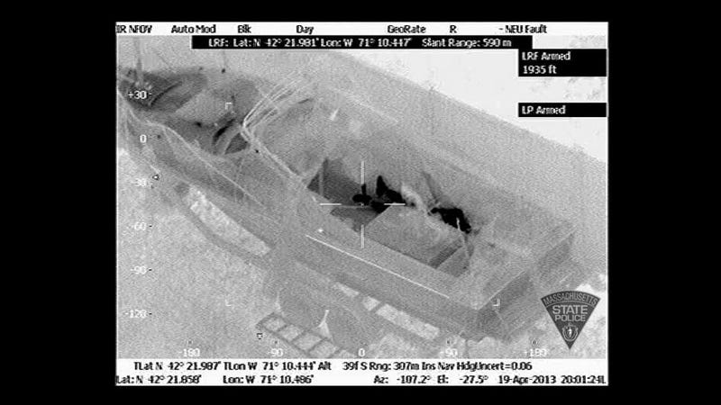 Illustration for article titled The Crazy Accurate Thermal Images That Saw Dzokhar Tsarnaev Through a Boat Tarp (Updated)