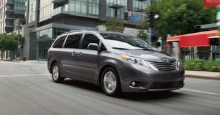 """Illustration for article titled Just saw a Toyota dealer commercial refer to the Sienna as a """"swagger wagon"""""""