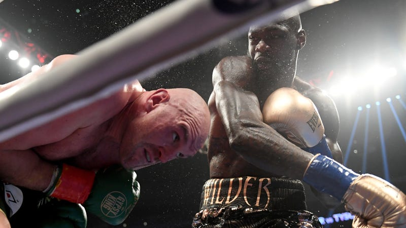 Tyson Fury Deontay Wilder Fight To A Draw In Heavyweight Bout