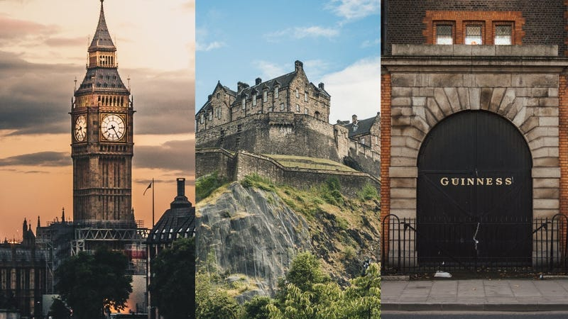 9-Night London/Edinburgh/Dublin Vacation Package | $1119+ | TripMasters
