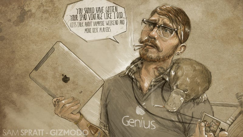 Illustration for article titled The Genius Bar
