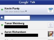 Illustration for article titled Google Talk Launches for iPhone; Works Great in Sidebar