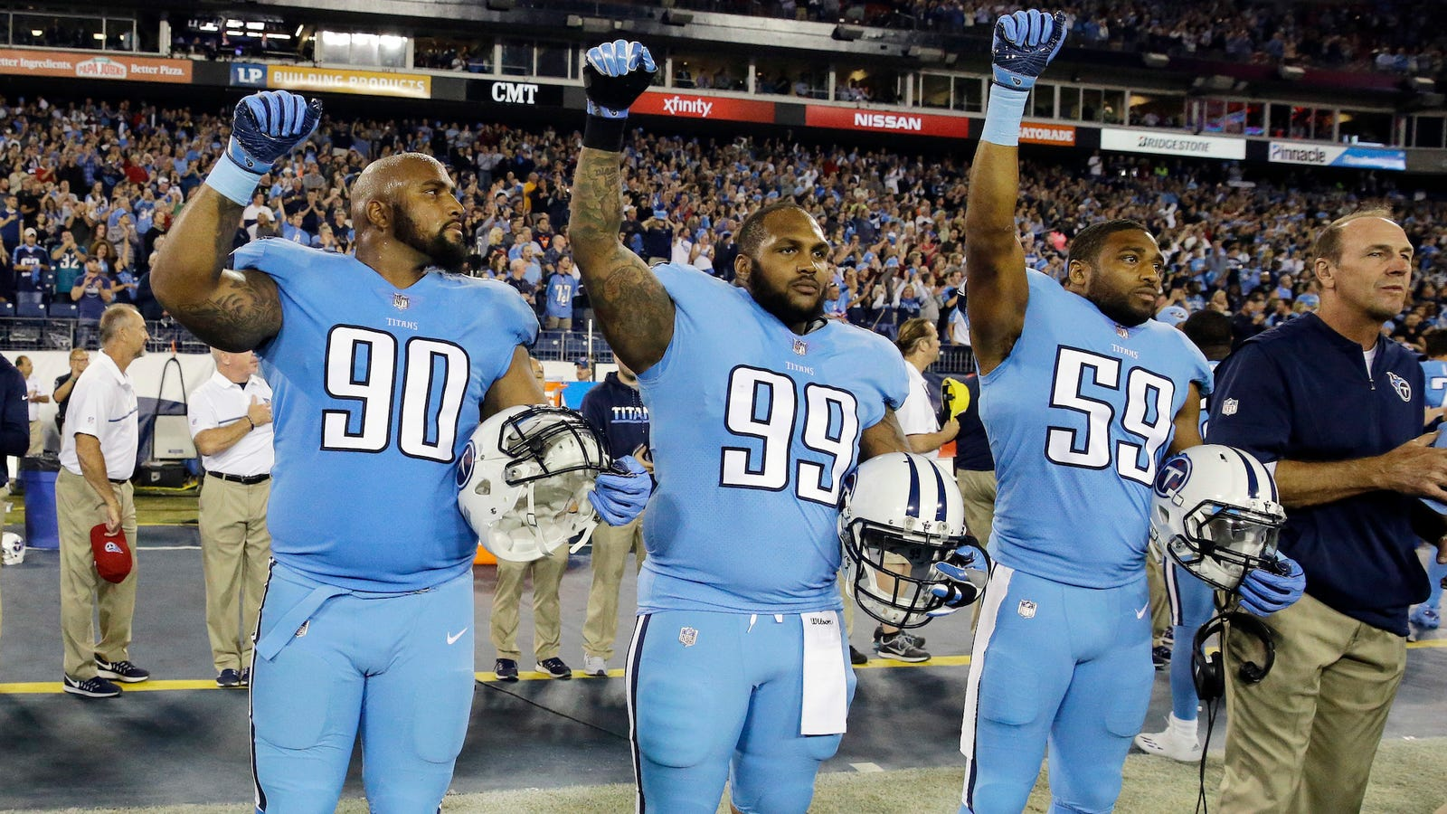 Titans  Jurrell Casey Says He ll Keep Protesting Injustice Despite NFL s  New Ant. 9b19f3ade
