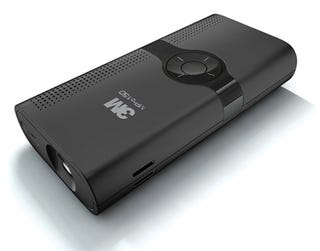 Illustration for article titled 3M Upgrades MPro150 Pico Projector With 1GB of Internal Storage