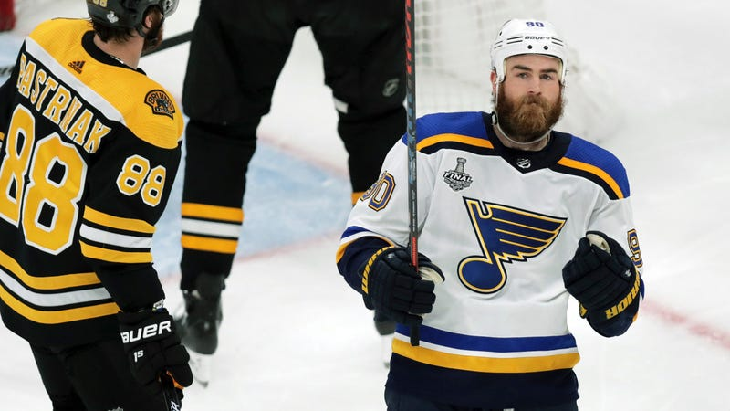 Illustration for article titled It's Downright Spooky How Ryan O'Reilly Is Always In The Right Place
