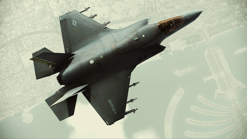 Illustration for article titled The Stealth, Speed and Devastation of Ace Combat Assault Horizon