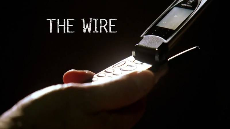 Cell phone from the Wire.