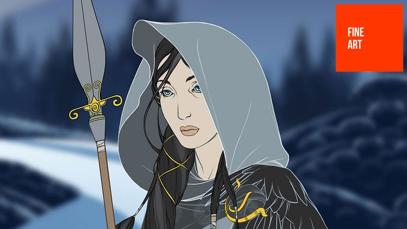 Illustration for article titled The Art Of The Banner Saga, One Of The Most Beautiful Video Games I've Ever Seen