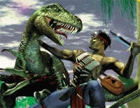 Illustration for article titled Turok To Stab Dinosaurs At A Movie Theater Near You