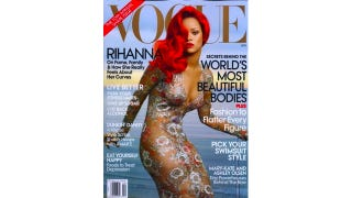 Illustration for article titled Rihanna Looks Like The Little Mermaid In Vogue