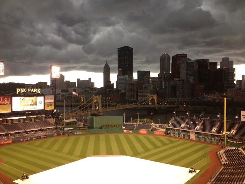 Illustration for article titled PNC Park Looked Terrifying Last Night