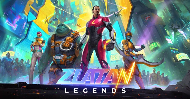 Illustration for article titled Oh Man Zlatan Has A Video Game And It Looks Perfectly Zlatan