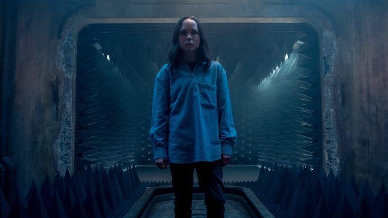 Ellen Page in Netflix's The Umbrella Academy.