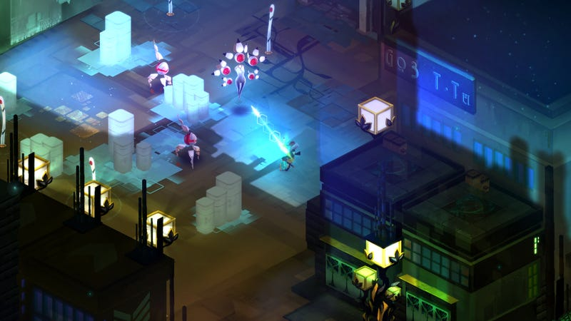 Illustration for article titled Transistor, The Next Game From Bastion's Creators, Is Out Next Month