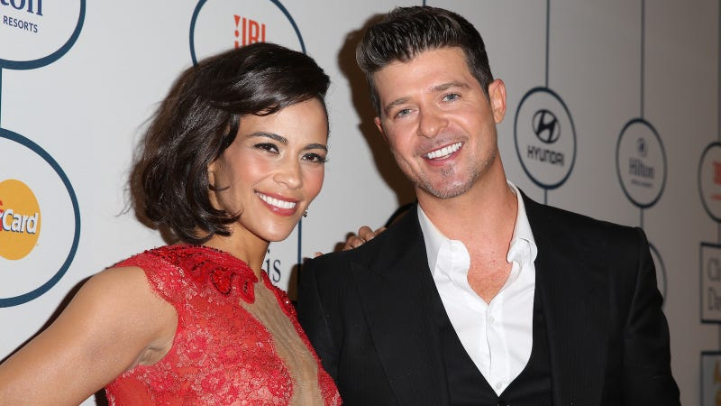 Robin Thicke & Paula Patton Custody Drama - Police Called
