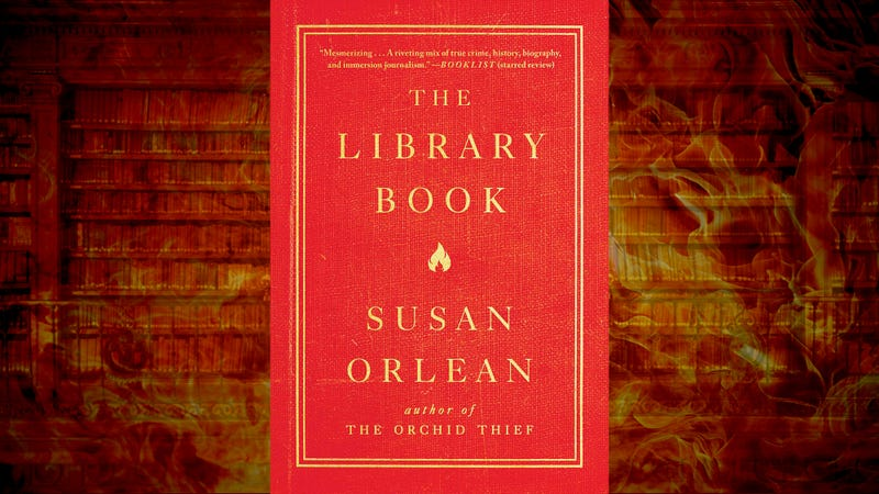 Illustration for article titled A historic fire illuminates an enduring institution in Susan Orlean's The Library Book
