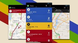 Transit Public Transportation App Arrives on Android