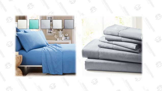 For the Rest of the Day, Grab This Six-Piece Ultra Soft Sheet Set for Just $20