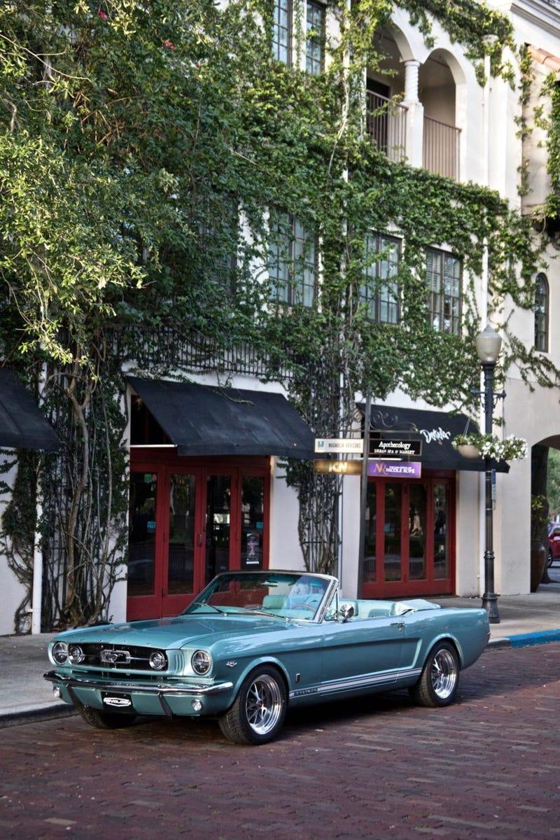 1965 Revology Mustang GT convertible.