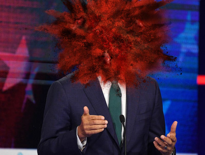 Illustration for article titled Jay Inslee's Head Explodes After New Fracture Forms In Greenland Ice Sheet