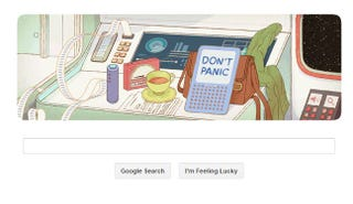 Illustration for article titled Google has built an actual working Hitchhiker's Guide to the Galaxy