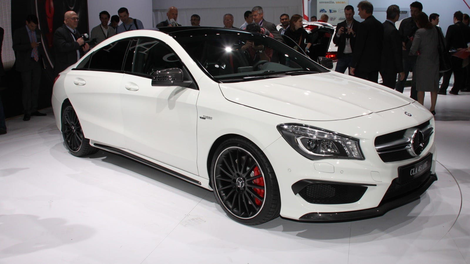 The mercedes benz cla 45 amg is the cheapest way into the for What is the cheapest mercedes benz