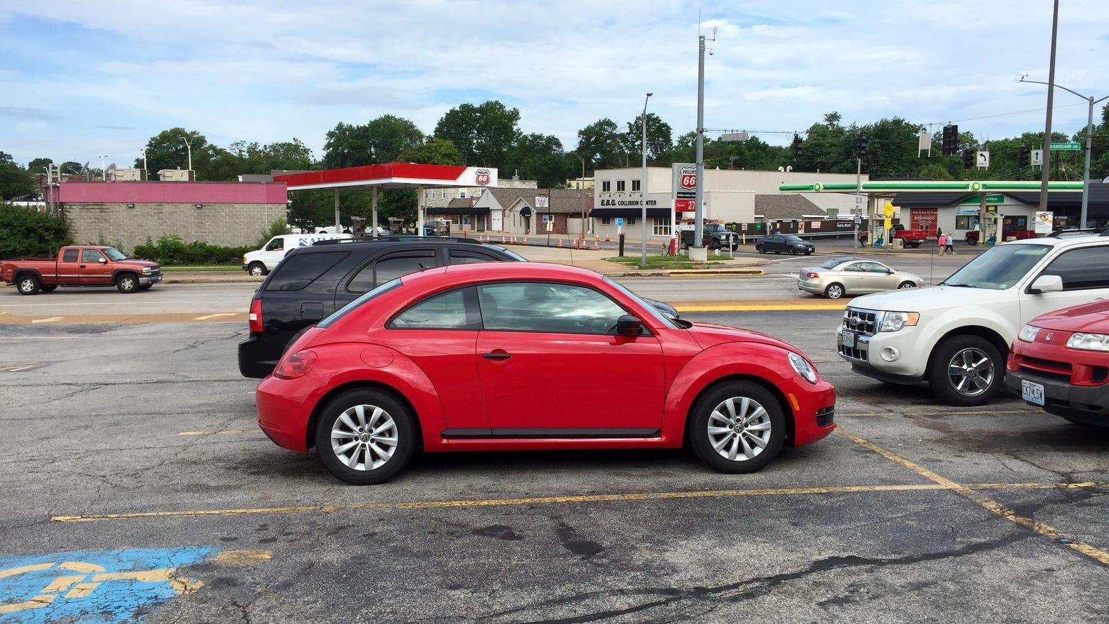 volkswagen beetle rental review