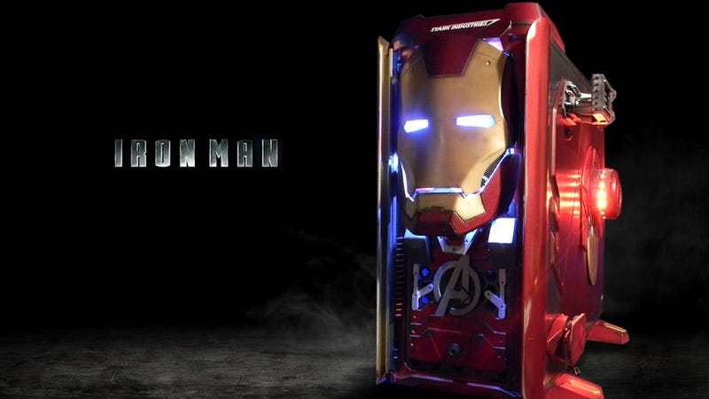 Illustration for article titled This Iron Man Case is Not Made by Tony Stark, But is Still Cooler Than You