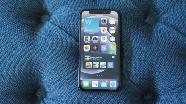 Apple May Finally Shrink the Notch for iPhone 13