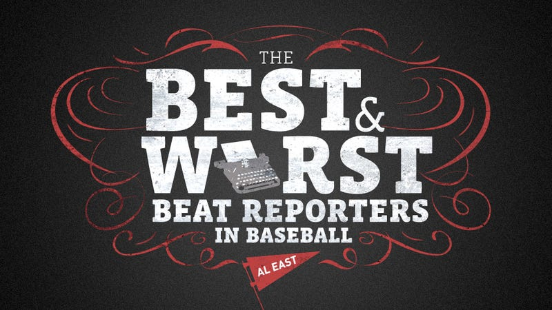 Illustration for article titled The Best And Worst Beat Reporters In Baseball: AL East